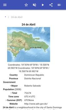 Populated places in Dominican Republic screenshot 1
