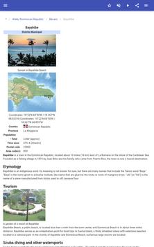 Populated places in Dominican Republic screenshot 8