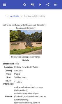Cemeteries screenshot 2