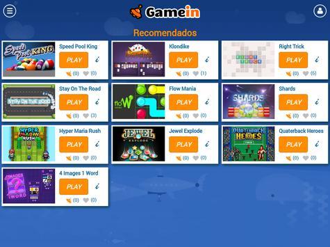 GameIn | Juegos para el móvil screenshot 5