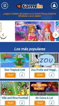 GameIn | Juegos para el móvil poster