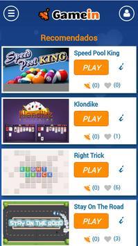 GameIn | Juegos para el móvil screenshot 2