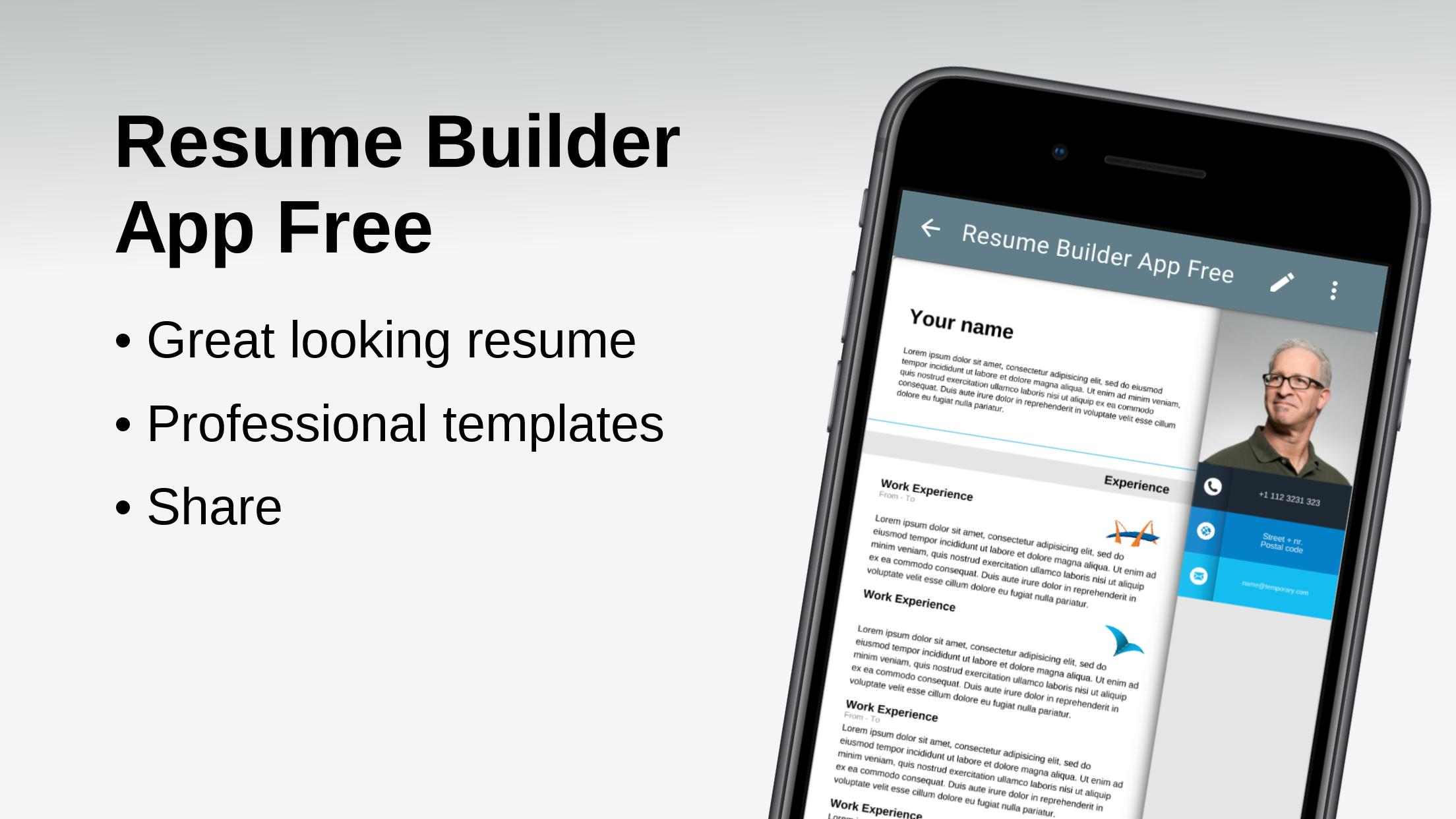Resume Builder App Free For Android Apk Download