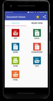 Docx Reader - Docx Viewer Offline Cartaz