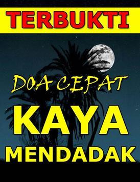 Doa Cepat Kaya Mendadak Dan Murah Rejeki poster