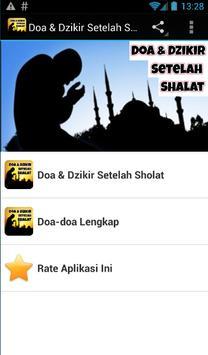 Doa & Dzikir Setelah Sholat poster