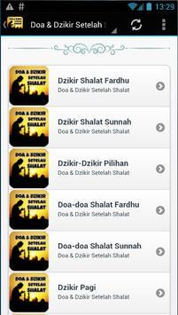 Doa & Dzikir Setelah Sholat screenshot 1