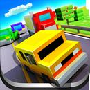 Blocky Highway: Traffic Racing aplikacja