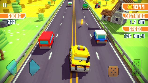 Blocky Highway Ekran Görüntüsü 4