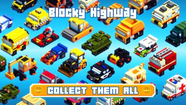 Blocky Highway Ekran Görüntüsü 8