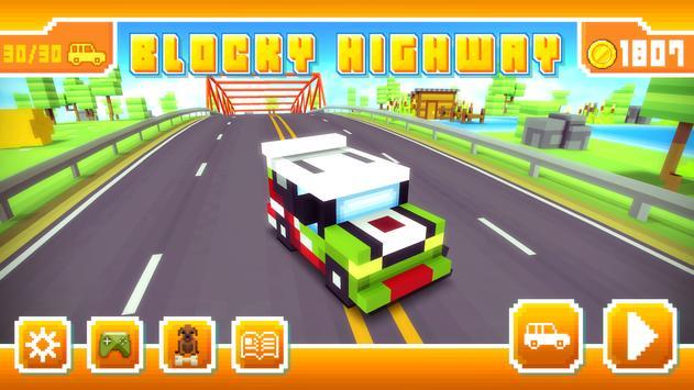 Blocky Highway Ekran Görüntüsü 17