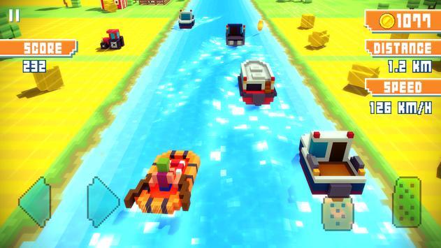 Blocky Highway Ekran Görüntüsü 1