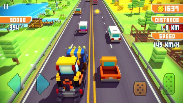 Blocky Highway Ekran Görüntüsü 3