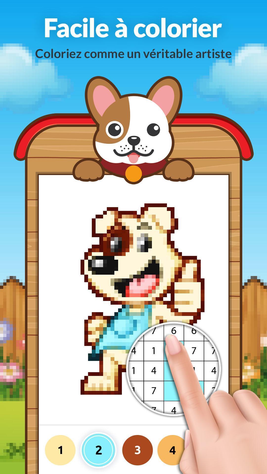 Pixel Art Chien Pour Android Téléchargez Lapk