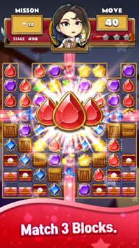 The Coma: Jewel Match 3 Puzzle poster