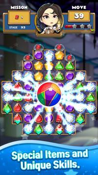 The Coma: Jewel Match 3 Puzzle screenshot 1