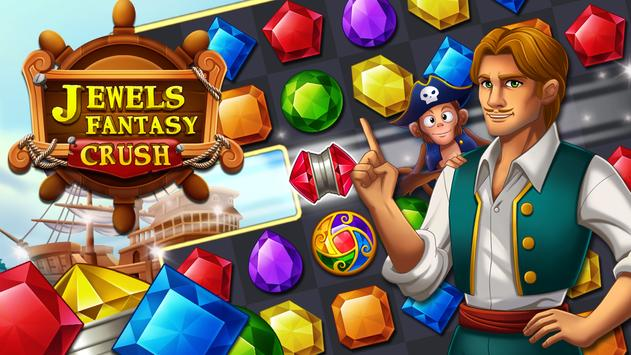 Jewels Fantasy Crush : Match 3 Puzzle poster