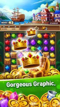 Jewels Fantasy Crush : Match 3 Puzzle screenshot 5