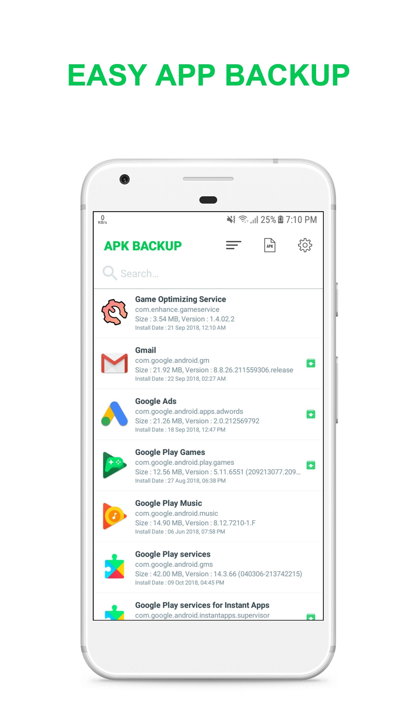 APK Backup for Android - APK Download