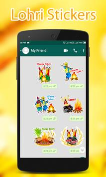 Lohri WAStickerApps screenshot 1