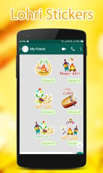 Lohri WAStickerApps screenshot 2