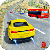 Modern Car Traffic Racing Tour - free games icon