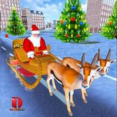 Christmas Santa Rush Gift Delivery- New Game 2020 icon