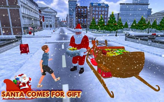 Christmas Santa Rush Gift Delivery- New Game 2020 poster