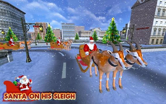 Christmas Santa Rush Gift Delivery- New Game 2020 screenshot 17