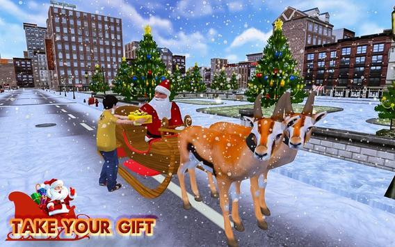 Christmas Santa Rush Gift Delivery- New Game 2020 screenshot 1