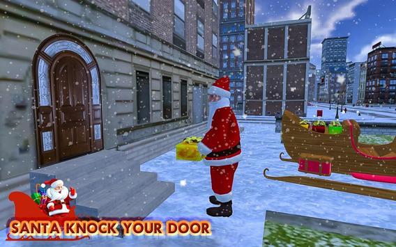 Christmas Santa Rush Gift Delivery- New Game 2020 screenshot 2