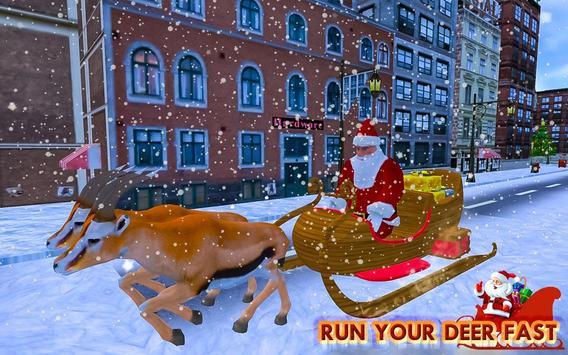Christmas Santa Rush Gift Delivery- New Game 2020 screenshot 3