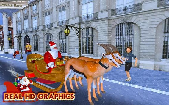 Christmas Santa Rush Gift Delivery- New Game 2020 screenshot 8