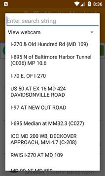 Traffic Monitor Maryland screenshot 3