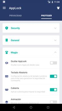 AppLock captura de pantalla 6