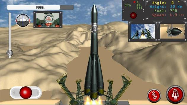 Vostok 1 Space Flight Agency Space Ship Simulator poster