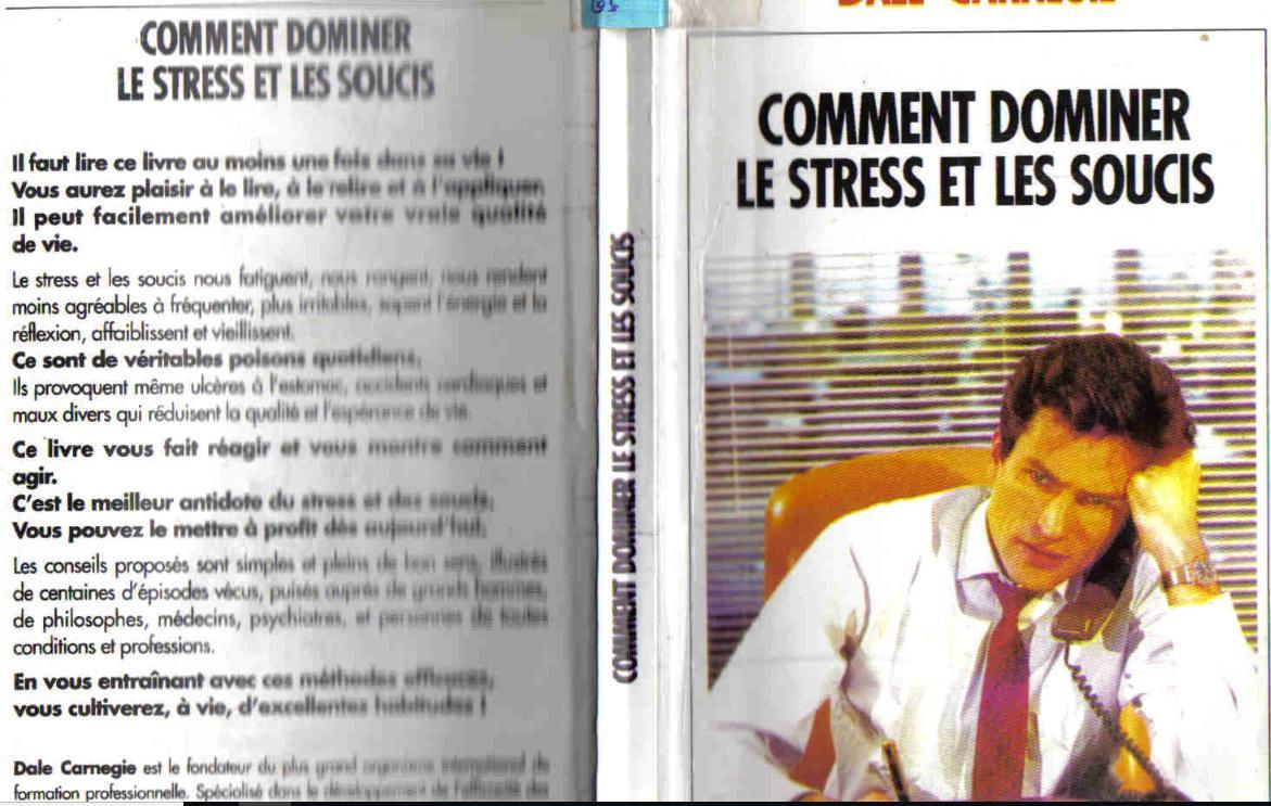 GRATUIT SOUCIS LES STRESS TÉLÉCHARGER LE PDF ET COMMENT DOMINER
