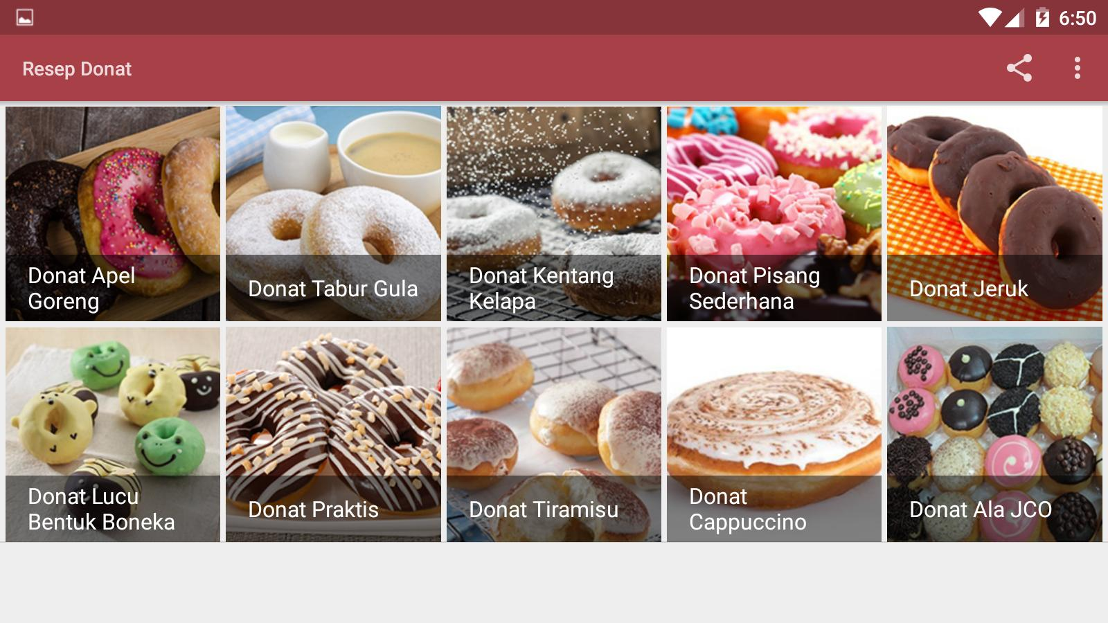 Resep Donat For Android Apk Download