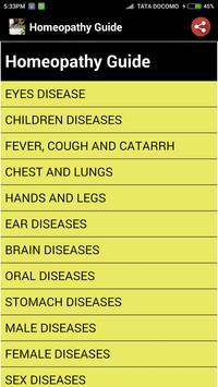 Homeopathy Guide screenshot 1