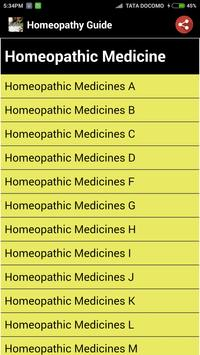 Homeopathy Guide screenshot 3