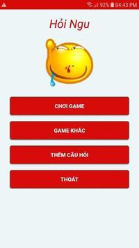 Hỏi Ngu- Hỏi Troll- Đố Vui Hại Não screenshot 1