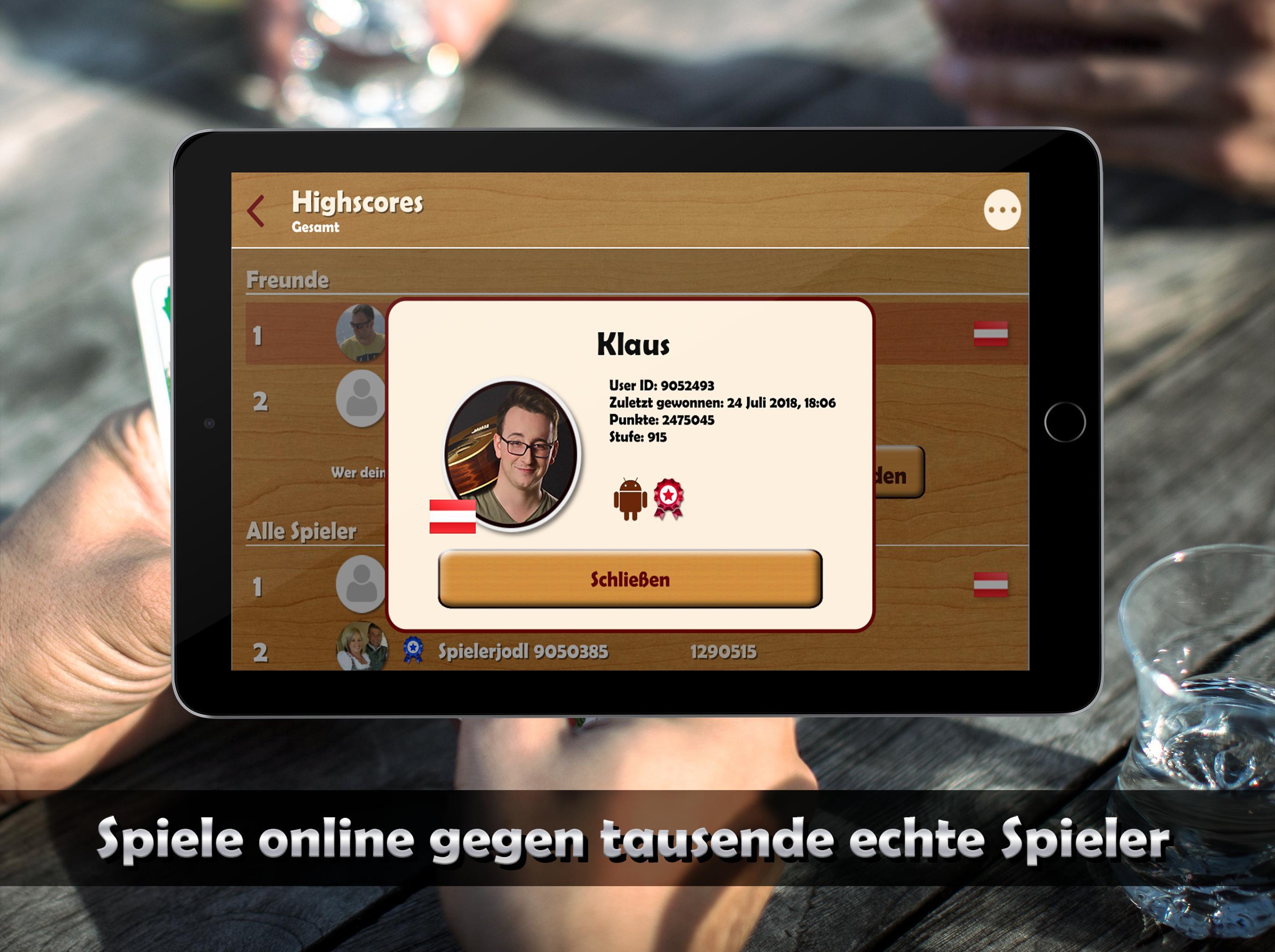 Schwimmen Kartenspiel Online