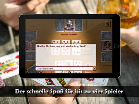 Schwimmen Kartenspiel App