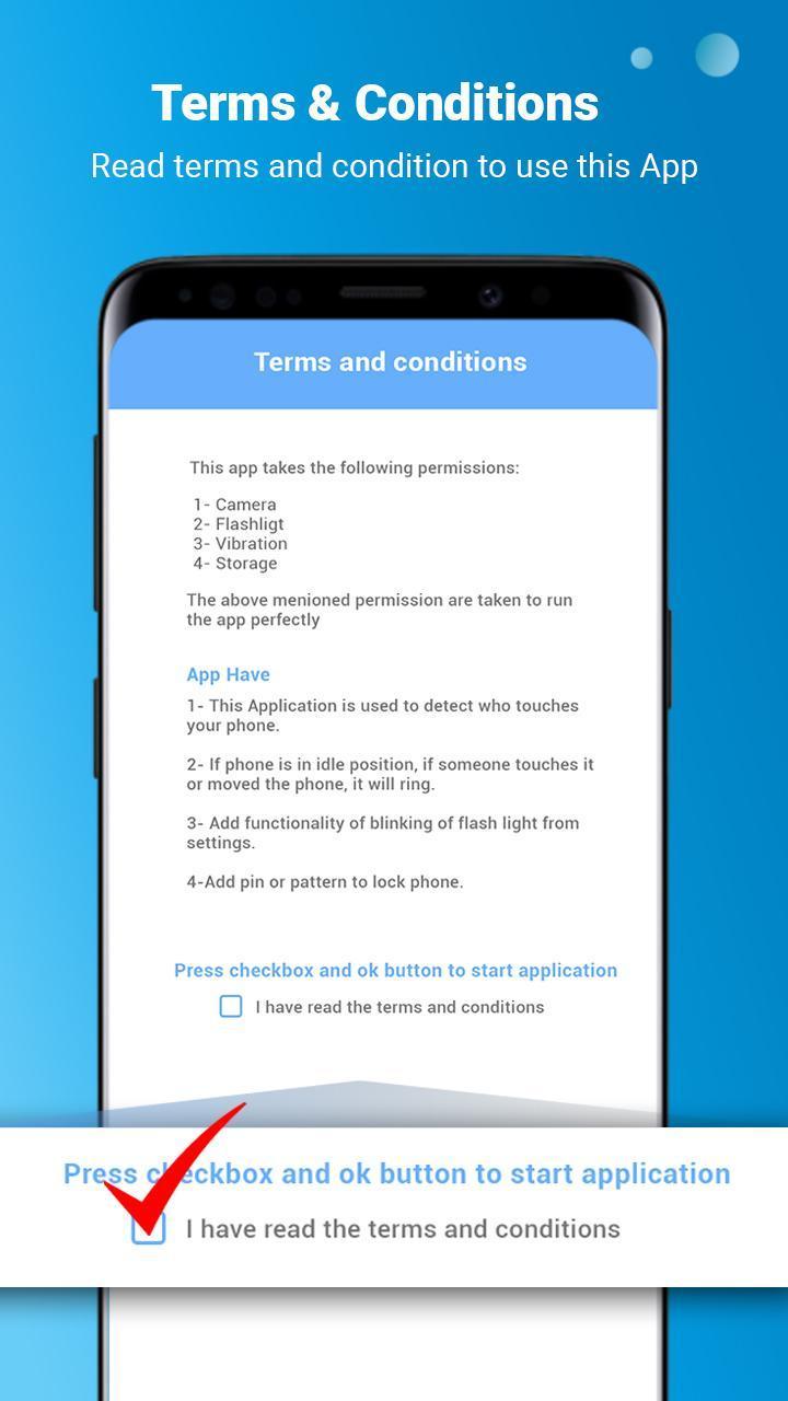 Báo động chống trộm-báo động an ninh cho Android - Tải về APK