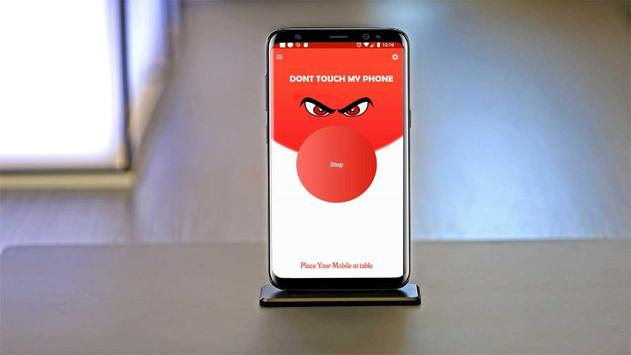 Dont Touch My Phone Anti theft Phone Alarm poster
