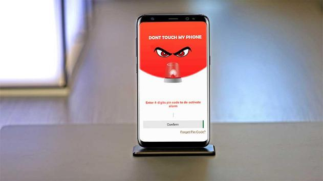 Dont Touch My Phone Anti theft Phone Alarm screenshot 2