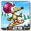Rat On A Snowboard icon