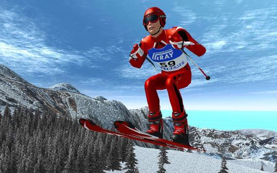 Ski Jump Super Skiing Safari Adventure screenshot 5
