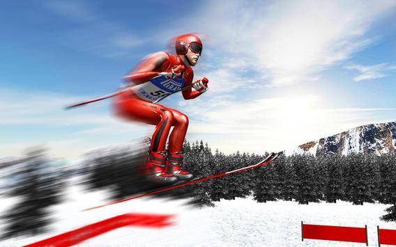 Ski Jump Super Skiing Safari Adventure poster