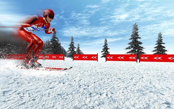 Ski Jump Super Skiing Safari Adventure screenshot 1